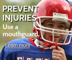 Prevent injuries with a sports guard